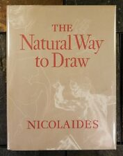 The Natural Way to Draw: A Working Plan For Art Study by Kimon Nicolaides 1969