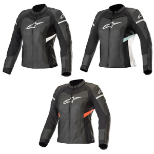 Alpinestars Stella Kira Ladies Sports Motorcycle Motorbike Leather Jacket