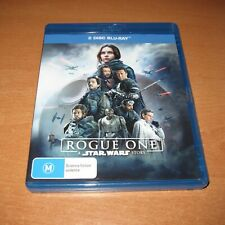 ROGUE ONE : A STAR WARS STORY ( 2017 BLU-RAY , 2-DISC SET ) ~ LIKE NEW