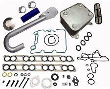 Ford 6.0L Diesel Basic EGR Delete Kit Engine Oil Cooler & Cooler Kit w/ Gaskets