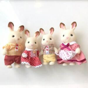 Sylvanian Families CHOCOLATE RABBIT FAMILY Epoch Calico Critters
