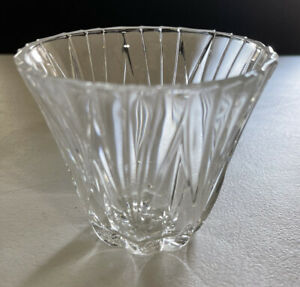 """3"""" Crystal Votive Cup in Excellent Condition"""