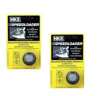 2 Pack HKS 7-shot Speedloader 357 Magnum Fits S&W 686 Mag Plus Taurus 617 587-A