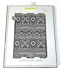 "Heyday Universal Case for Tablet 7-8""  Black & White Design NIB"