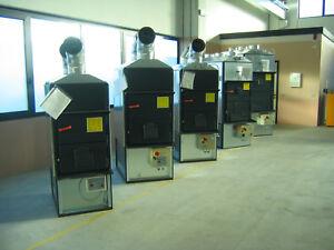 Warmluftofen, Werkstattofen Fabbri F85C.V.mit Rauchzuggebläse