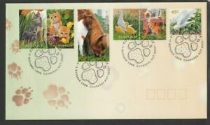 1996 PETS First Day Cover