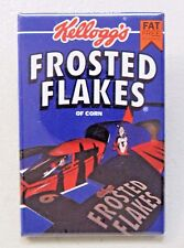 1993 KELLOGG'S FROSTED FLAKES blue pinback button Hydroplane Boat racing z