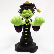 "GREEN HOPPING GHOST by Osaka Popstar - 8"" Vinyl Figues John Cafiero / FREE MP3"