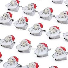 LED Light Brooch Pin Flashing Christmas Xmas Santa Claus Badge Brooch Kids Gift