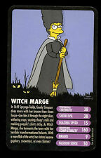 Witch Marge The Simpsons Horror -  Top Trumps Card #C17
