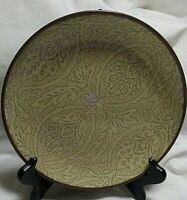"Chandi Sage Bread/Salad/Dessert Plate 222 Fifth International 81/4"" Stoneware"