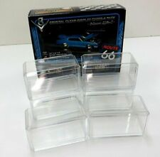 Hot Wheels or Matchbox 6 Pack Clear Display Cases 1:64 Diecast Cars Brand New
