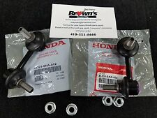 NEW GENUINE HONDA CIVIC FRONT SWAY STABILIZER  BAR END LINK SET 2006-2011 RT/LT