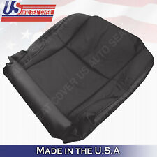 Fits 2008 Lexus IS250 IS350 Driver Side Bottom Seat Perforated Leather- Black