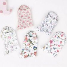 Quality Casual Soft Ankle Socks Flower Printing Cotton Knitted