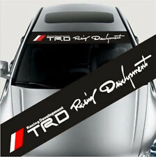 Reflective TRD Racing Windshield Banner Decal Racing Car Sticker For ToyotaF RN
