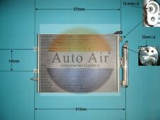AIR CON CONDENSER FITS RENAULT CLIO III MODUS AUTO AIR 16-1094