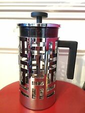 Bodum French Press Coffee Pot Stainless Steel Glass Maker