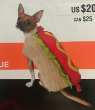 HOT DOG Halloween Dog Pet Costume  1 PC Size Medium