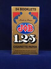 JOB 1.25 CIGARETTE ROLLING PAPERS 24 BOOKLETS.