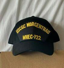 New Uscg baseball hat cap Us Coast Guard Cutter Morgenthau Whec-722 ship crew