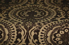 Black Chenille Beacon Hill Upholstery Fabric 2.75 Yds