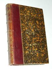 1866 livre ancien OEUVRES de MASSILLON d'alembert PETIT CAREME SERMONS bourdier