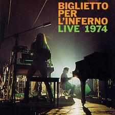 BIGLIETTO PER L'INFERNO Live 1974 CD italian Prog