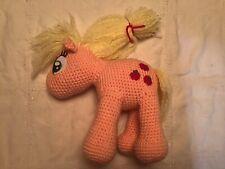 "Handmade Peach Crochet ""My Little Pony"""