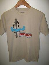 Central Florida Triathlon Tee - 2009 Clermont FL Sprint Series Athlete T Shirt S