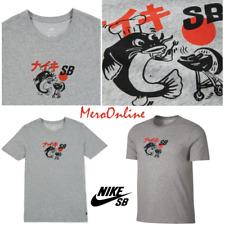 SZ 2XL 🆕🔥🏂 Nike SB Japan BBQ Grilled Fish Dry T-Shirt Tee Mens Gym Sportswear