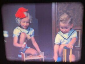 16mm 1930s/1940s Home Movies CALIFORNIA Norwegian Tahoe 800' Color/BW Kodachrome