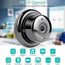 Cámaras de Vigilancia Wifi HD 360° cámara de ojo de pez inalámbrica VR seguridad