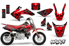 Honda CRF50 Dirt Bike Graphics Sticker Kit Decal Wrap MX Deco 04-15 MALICE RED