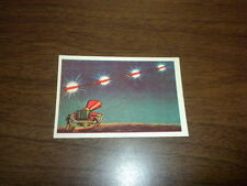 MISSILES AND SATELLITES trading card #20 PARKHURST 1958 space rockets planets