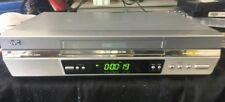 SILVER JVC VIDEO TAPE PLAYER/RECORDER VCR SUPER VHS ET HR-S5975 NICAM