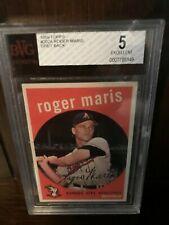 1959 Topps Roger Maris #202A