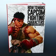 How to Make Capcom Fighting Characters Street Fighter V Japan Art Guide Book NEW