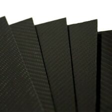 PLANCHA DE FIBRA DE CARBONO 3mm TWILL 2/2 Gloss 500x400mm