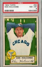 1952 Topps Ken Holcombe #95 PSA 8