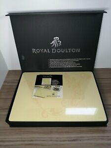Stunning 14 Piece Royal Doulton Place Mat Table Mat Set Sensuality Design BNIB
