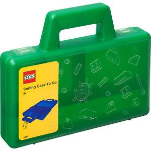 Room Copenhagen LEGO Sortierbox to go, Aufbewahrungsbox, grün