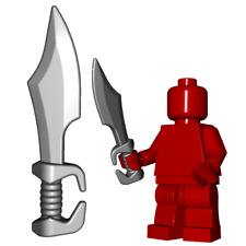 Spartan sword for Lego minifigures accessories