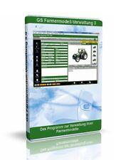 GS Farmermodell-Verwaltung 3 - Software Programm zur Verwaltung Ihrer Sammlung