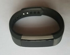 Black LARGE Fitbit Alta Fitness Activity Tracker - NO POWER - Read Description