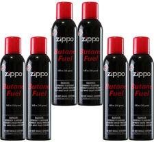 6 cans Zippo Premium Butane Fuel 5.82 oz. 165 Grams Each