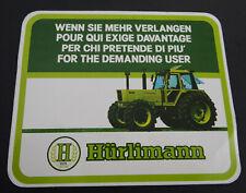 Aufkleber Hürlimann Traktoren Schlepper Oldtimer 80er Sticker
