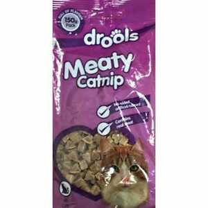 Drools Meaty Heart Catnip Treats 150g