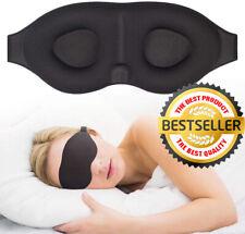 3D Sleep Mask For Men & Women Eye Mask For Sleeping Blindfold Travel Accessories