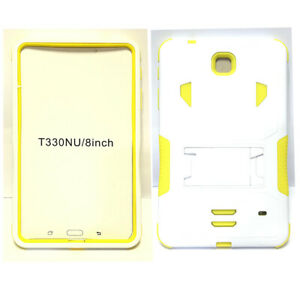 For Samsung Galaxy Tab 4 8.0 8-inch T330 Tablet Armor Rugged Cover Hard Box Case
